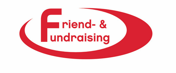 friend and fundraising logo